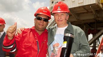 Игорь Сечин во время визита в Венесуэлу (фото из архива)