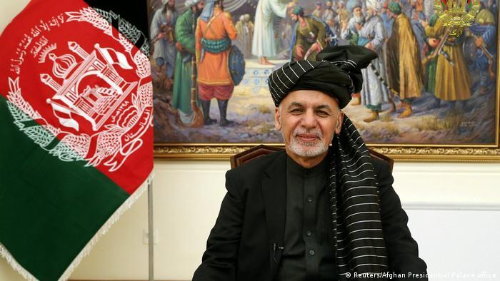 Afghanistan TV Ansprache Aschraf Ghani