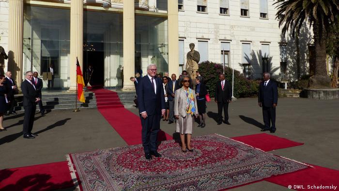 Deutschland Bundespräsident Steinmeier zu Staatsbesuch in Äthiopien