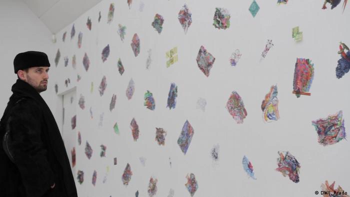 Berlin Ausstellung Edi Rama Work | Besucher