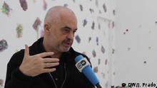 Berlin Ausstellung Edi Rama Work | Interview mit der DW