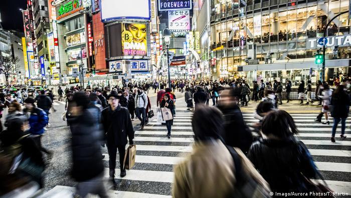 Japan Shibuya-Kreuzung in Tokio (Imago/Aurora Photos/T. Martin)