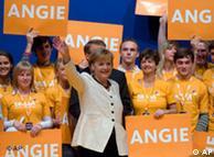 Ангела Меркель 26 сентября в Берлине