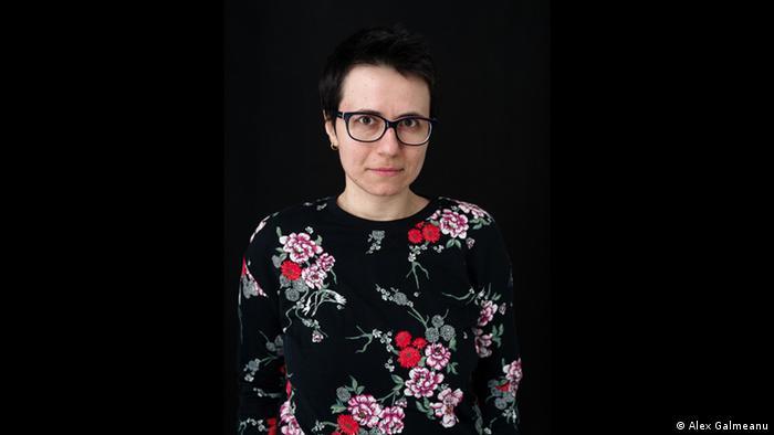 rumänische Schriftstellerin Lavinia Braniste