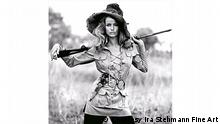 Franco Rubartelli Veruschka, Safari dress by Yves Saint Laurent, 1968 Courtesy Ira Stehmann Fine Art