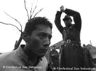 Escena de la película china City of life and death.