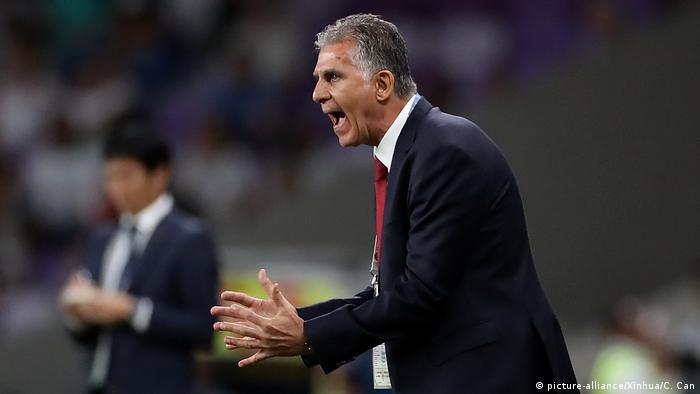Fußball AFC Asian Cup Iran - Japan Carlos Queiros