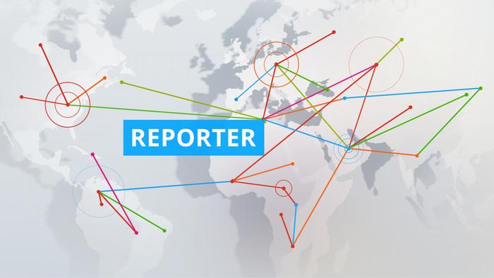 DW Reporter Sendungslogo