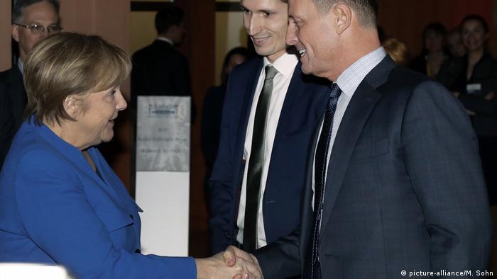Bundeskanzlerin Angela Merkel erhält amerikanischen Fulbright-Preis