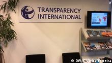 Internationales Büro von Transparency International in Berlin
