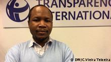 Samuel Kaninda, Regionalberater für Subsahara-Afrika von Transparency International in Berlin