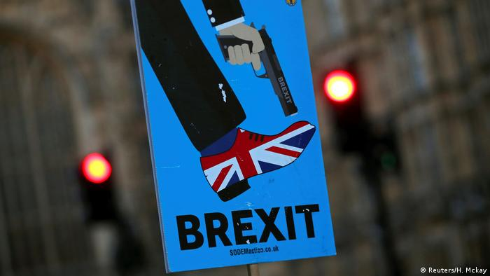 England Anti-Brexit Demonstration in London (Reuters/H. Mckay)