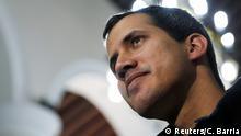 Venezolanischer Oppositionsführer und selbsternannter Interimspräsident Juan Guaido in Caracas, Venezuela