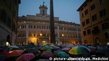 Italien, Rom: Demonstration gegen Flüchtlingspolitik in Italien