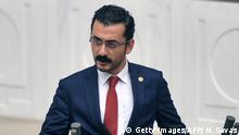 Türkei, Ankara: Oppositionspolitiker Eren Erdem