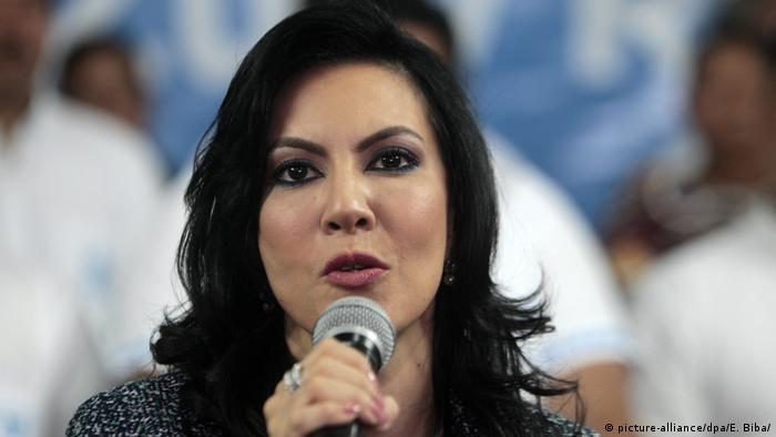 Guatemala, Guatemala-Stadt: Zury Rios, die Tochter des des guatemaltekischen Ex-Diktators