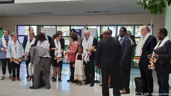 Äthiopien Frank-Walter Steinmeier zu Besuch in Addis Abeba