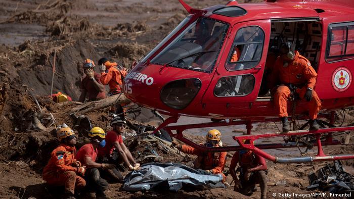 Bildergalerie Brasilien Dammbruch Brumadinho (Getty Images/AFP/M. Pimentel)