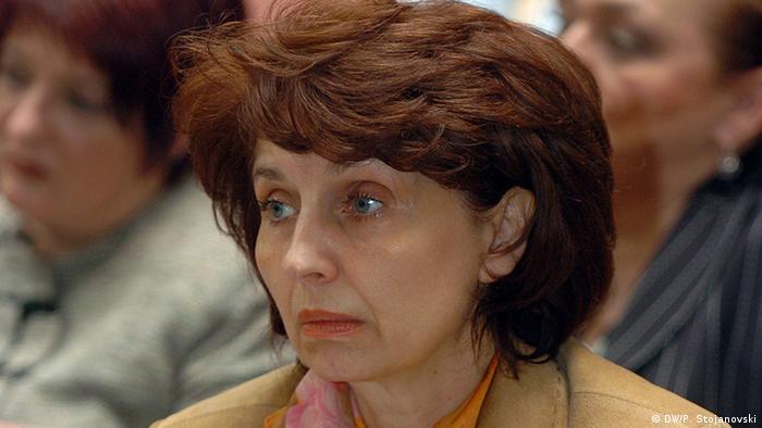 Mazedonien Gordana Siljanovska-Davkova Uni Professorin