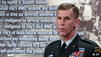 US General Stanley McChrystal