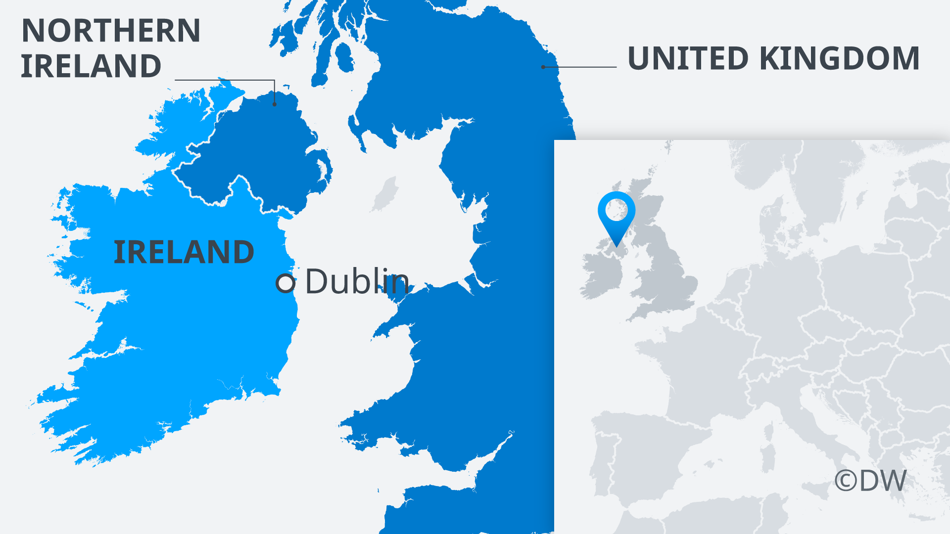 Map Of Ireland On Her Face.Brexit Why Is The Irish Backstop So Controversial Europe News