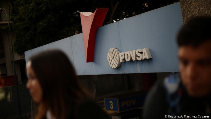 Venezuela PDVSA Ölkonzern Symbolbild US Sanktionen