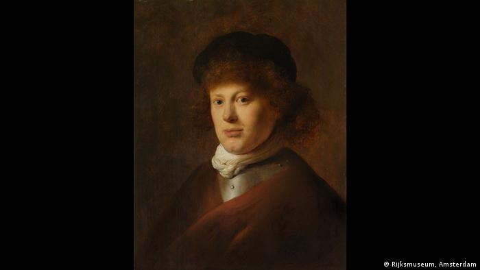 Portrait of Rembrandt by Jan Lievens (1629) (Rijksmuseum, Amsterdam)