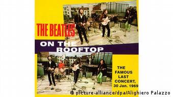 Plakat Beatles Rooftop Concert 1969 | zum 40. Jubiläum 2009