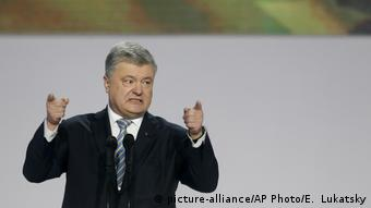 Ukraine Kiew | Petro Poroschenko, Präsident (picture-alliance/AP Photo/E. Lukatsky)