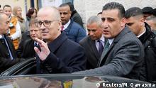 Palästinensischer Premierminister Rami Hamdallah
