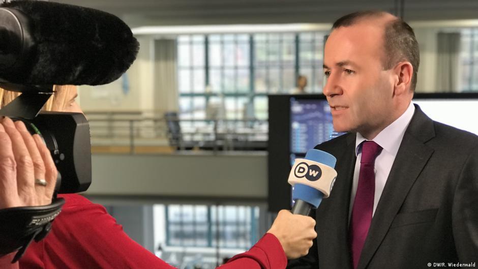 Manfred Weber im DW Interview