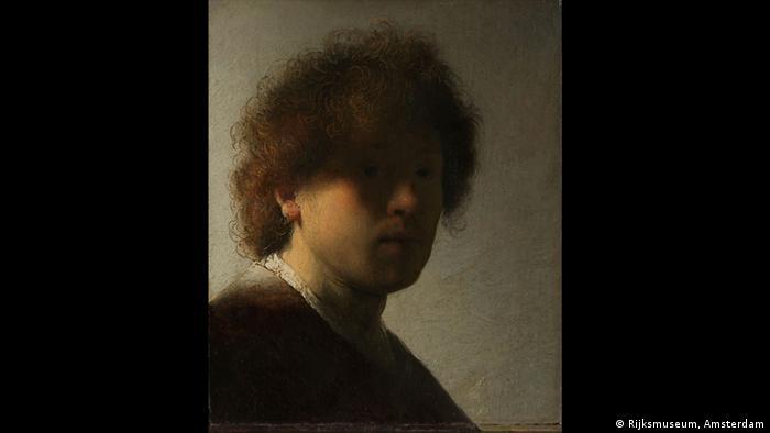 Rembrandt Selbstporträt von 1628 (Rijksmuseum, Amsterdam)