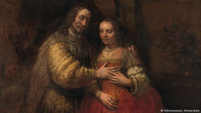 Gemälde Isaac und Rebecca von Rembrandt (Rijksmuseum, Amsterdam)