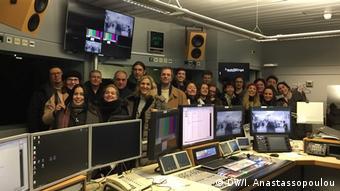 Οι έλληνες χορωδοί επισκέφθηκαν και τις εγκαταστάσεις της DW στη Βόννη