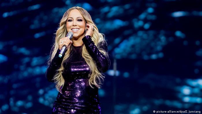 Mariah Carey US-amerikanische Sängerin (picture-alliance/dpa/Z. Junxiang)