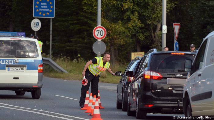Deutschen Grenzkontrollen an der Grenze zu Österreich