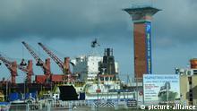 Litauen - Der Hafen von Klaipeda