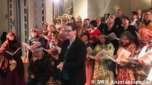 Bonn, Konzert des DW Chor in der Jesu Kirche mit Maestra Maja Braun