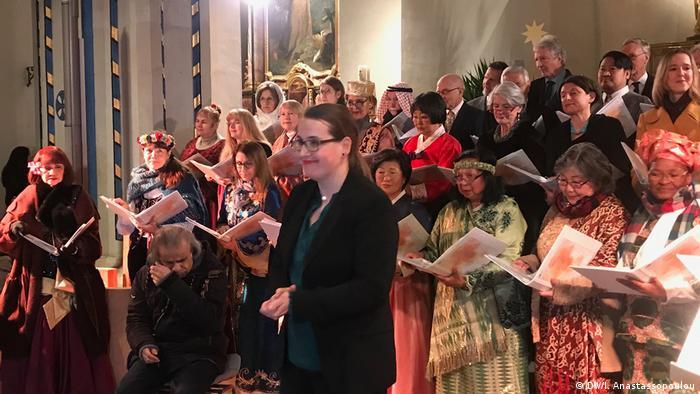 Bonn, Konzert des DW Chor in der Jesu Kirche