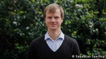 Sebastian Sperling, Vertreter der Friedrich-Ebert-Stiftung in Uruguay