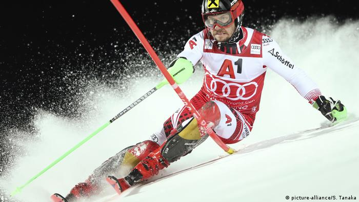 Österreich, Alpine Skiing World Cup in Schladming (picture-alliance/S. Tanaka)