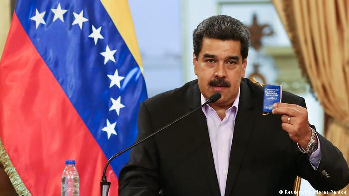 Venezuela Caracas Nicolas Maduro (Reuters/Miraflores Palace)