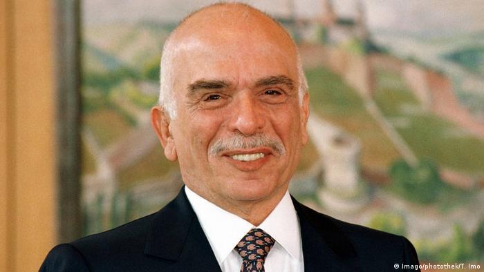 Deustchland König Hussein Ibn Talal von Jordanien