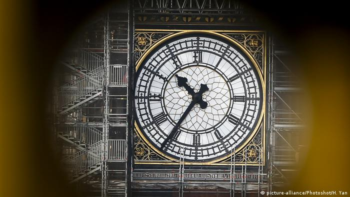 London's Big Ben approaching the eleventh hour