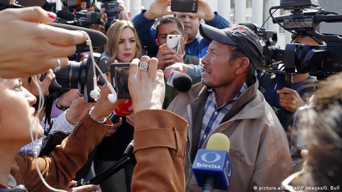 Carlos Catarido Gómez, logró cruzar al otro lado de la frontera para pedir asilo en Estados Unidos por la violencia que se vive en su país, Honduras. Se convirtió en el primer solicitante centroamericano devuelto por Estados Unidos bajo el mecanismo MPP, el 29 de enero pasado.