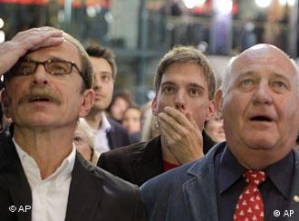 SPD-Anhänger (Foto: AP)