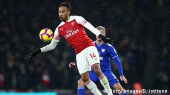Arsenal FC v Cardiff City - Premier League, Pierre-Emerick Aubameyang (Getty Images/D. Istitene)