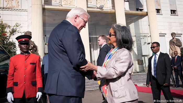 Bundespräsident Steinmeier Besuch in Äthiopien