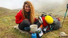 Libanesische Bergsteigerin Fatima Deryan