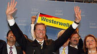 Guido Westerwell, FDP leader